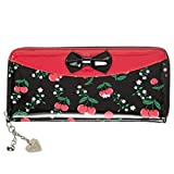 Banned Billetera New Romantics Cerezas Vintage Retro 1950