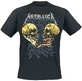 Metallica METTS25MB03 Camiseta, Negro, L para Hombre
