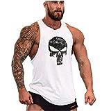 Cabeen Camisetas de Tirantes Entrenamiento Fitness Gimnasio Tank Top Músculo Fit para Hombre