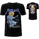 Metallica Doris_Men_bl_TS:2XL Camiseta, Negro (Black Black), XX-Large para Hombre