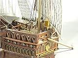 YZ-YUAN Barcos Kit de Modelo de Barco Velero Modelo Educativo Clásico España Barco Columbus Expedition Fleet Ships 1492 Santa Maria Velero Madera SC Modelo Kit para Regalo