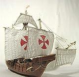 YZ-YUAN Kits de construcción de Modelos de embarcaciones Modelo de embarcación a Escala 1/50 España Kits de Modelo de velero clásico Columbus Fleet Santa Maria 1492 Modelo de Barco para Regalo