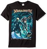 FEA - Camiseta - Unisex de Color Negro de Talla Large - Megadeth - Vic Canister (Camiseta) - Large Nero