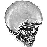 Hells-Design - Pin de calavera con diseño de calavera
