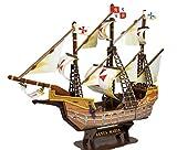 Kw-tool Maqueta de Barco, Herramientas de construcción Maqueta de Barco Maqueta de Barco Maqueta ensamblada Vela clásica Modelo Santa maría