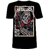 Metallica Death Reaper_Men_bl_TS: M Hombre, Negro, Medium