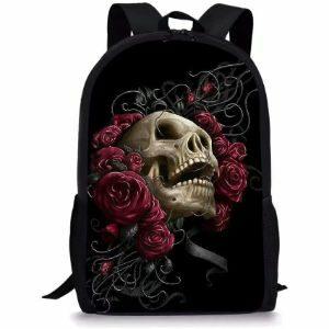 mochilas escolares de calaveras